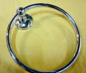 Towel Ring Silver SCS3860CH